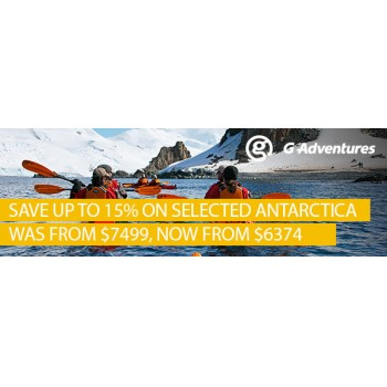 Bargain - 15% OFF - Selected Antartica @ STA Travel