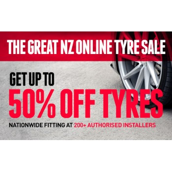 Bargain - Up to 50% OFF - Tyres @ Hyper Drive