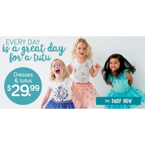 Bargain - from $29.99 - Dresses & Tutus @ Pumpkin Patch NZ