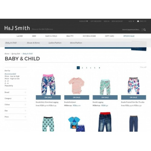 Bargain - Up to 50% OFF - Baby & Child Clothing @ HJ Smith