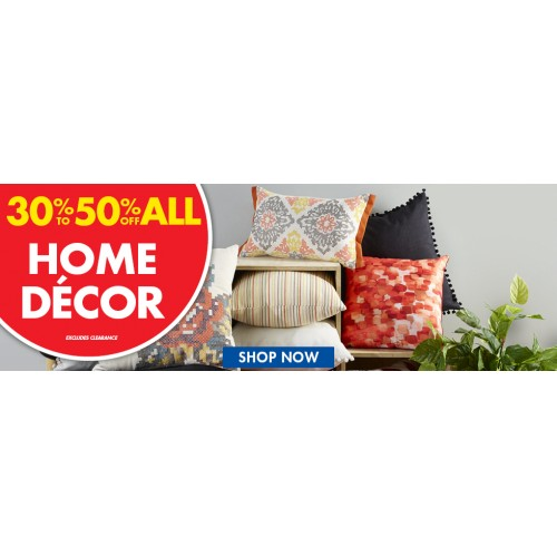 Bargain - 30-50% OFF - Home Decor @ Spot Light Store