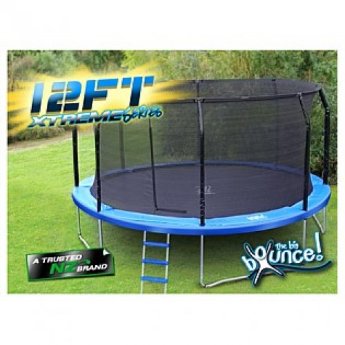 $499 (was $679) 12ft Trampoline TheBigBounce