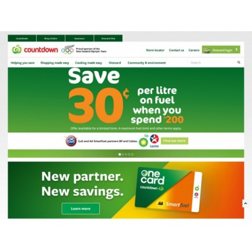 Bargain - Save 30c  - Per Litre on Fuel when you Spend $200 @ Countdown
