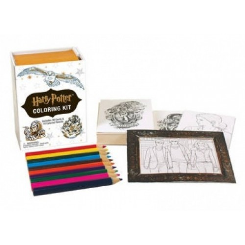 Bargain - $9.99 (was $25.58) - Harry Potter Colouring Kit @ Fishpond