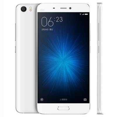 Bargain - USD $289.30 (59% OFF) - XiaoMi Mi5 4G Smartphone  -  WHITE  @ Gear Best