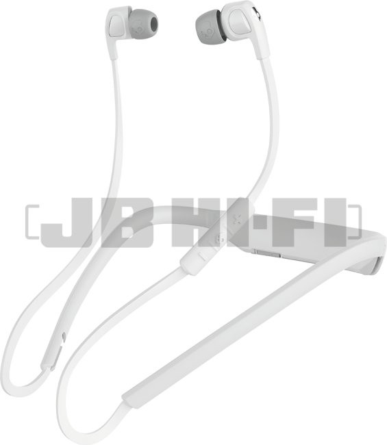 Bargain - $59 (was $99) - Skullcandy Smokin` Buds 2 Wireless In-ear Headphones (White/Chrome) @ JB Hi-Fi