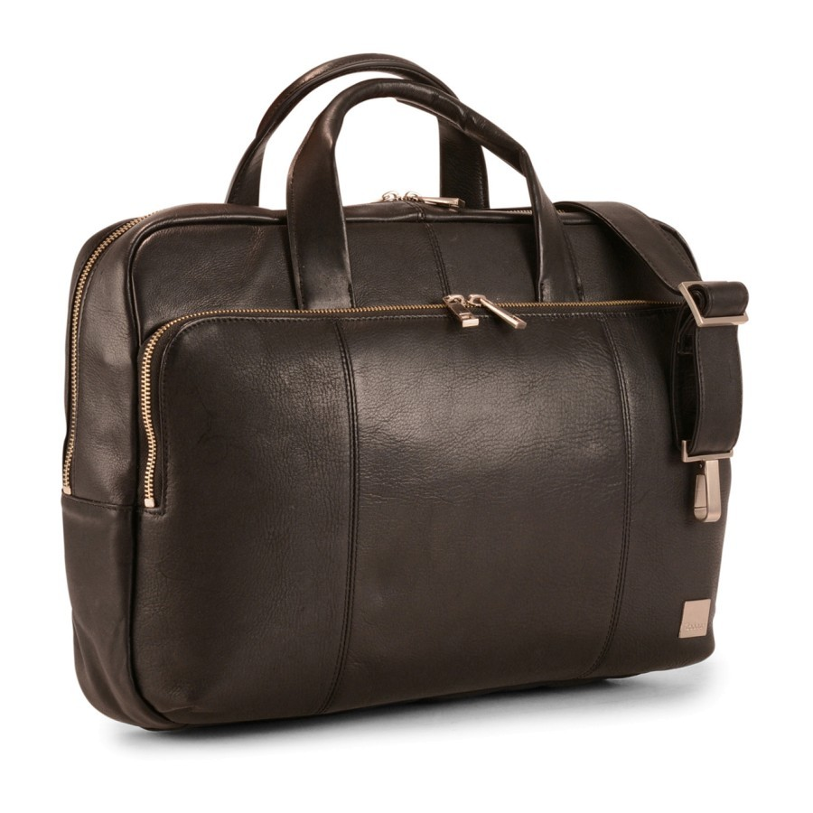 Bargain - $179.99 (was $299.99) - Cooper Keelson Top Zip Leather Briefcase @ Luggage
