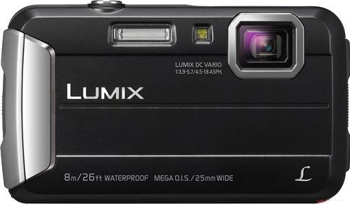 Bargain - $199 (was $249) - Panasonic Lumix Ft30 Tough Camera- Black @ JB Hi-Fi