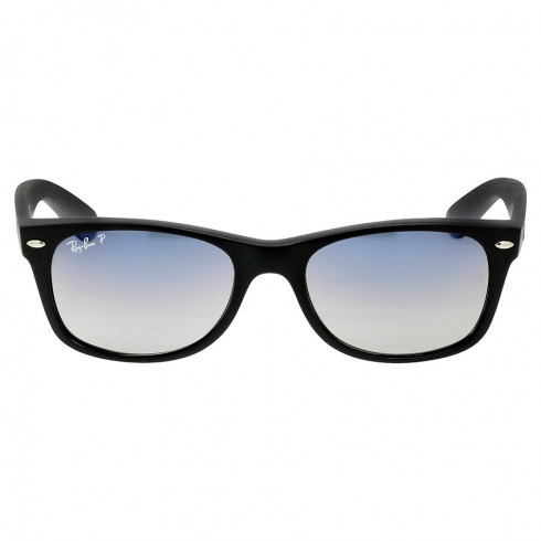 Bargain - $99.99 (47% off) - Ray-Ban Wayfarer Classic Polarized Blue Grey Black Nylon Sunglasses @ Jomashop