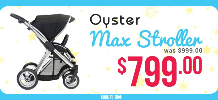 Bargain - $799 (was $999) - Oyster Max Stroller @ The Baby Factory