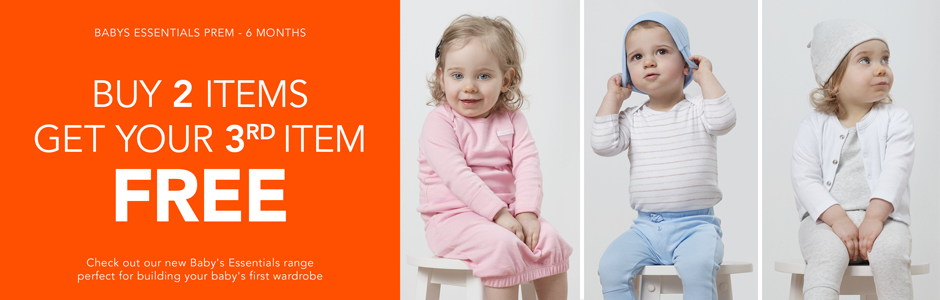 Bargain - Get Your 3rd Item Free - Baby`s Eessentials - Extended Sale @ Babycity