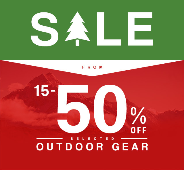 Bargain - 15-50% OFF - Selected Outdoor Gear @ Bivouac