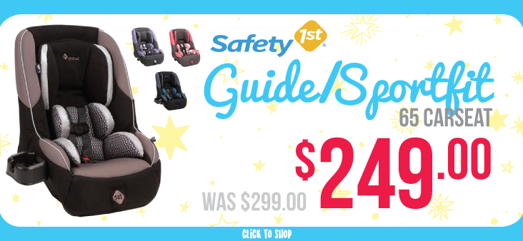 Bargain - 17% Off - Safety First Guide/Sportfit @ The Baby Factory
