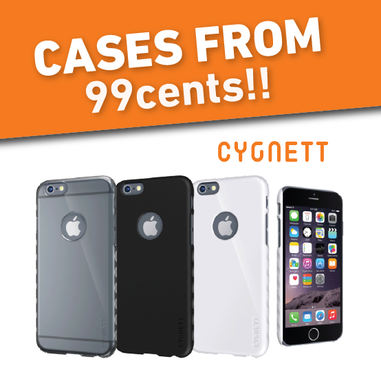 Bargain - From $0.99 - Cases @ Heathcote Appliances