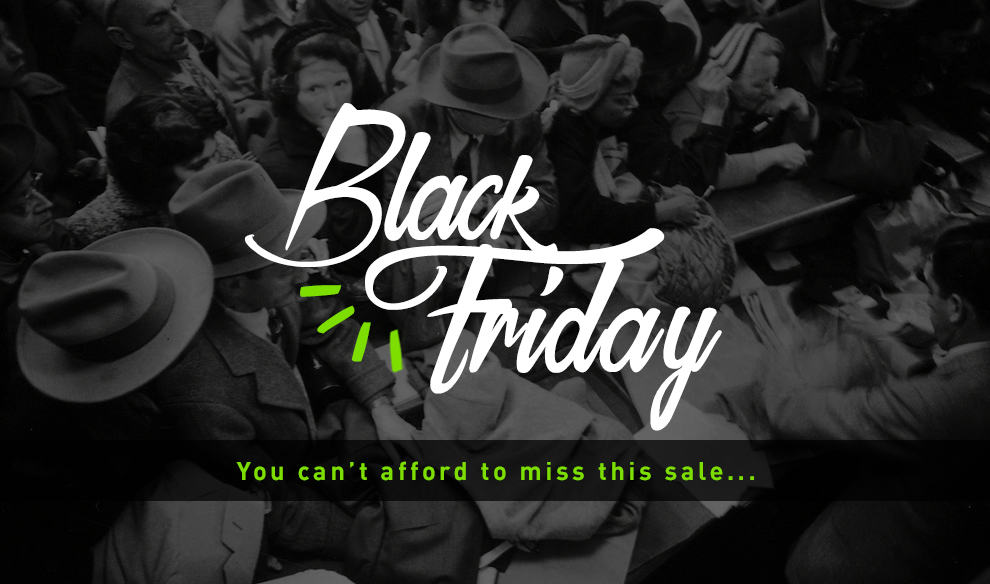Bargain - Save Up to 60% Off - Black Friday Sale @ Hyper Drive
