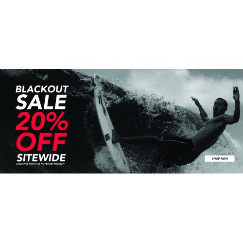 Bargain - 20% Off - Sitewide - Black Friday Sale @ Amazon Surf