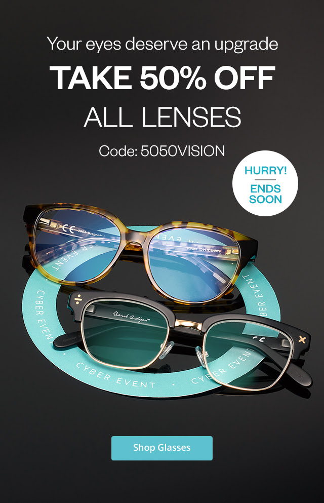 Bargain - 50% OFF - All Lenses @ Clearly