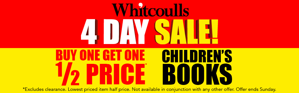 Bargain - Buy One Get One 50% OFF - Children`s Book @ Whitcoulls