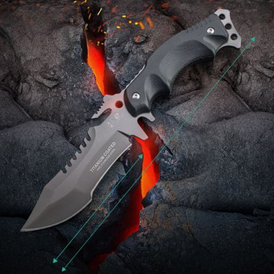 Bargain - $13.99 (Just 100 PCs) - HX OUTDOORS D - 123 Tactical Fixed Edge Knife-18.47 Online Shopping| GearBest.com