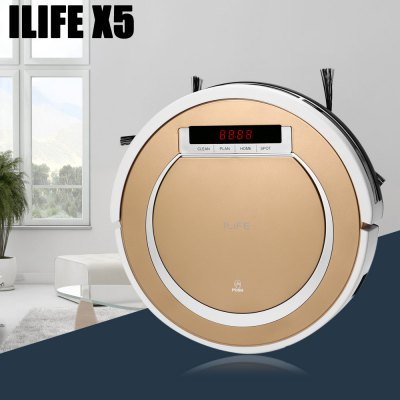 Bargain - $116.99 (Just 91 PCs) - ILIFE X5 Smart Robotic Vacuum Cleaner-129.99 Online Shopping| GearBest.com