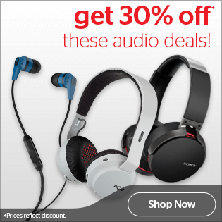 Bargain - 30% OFF - Audio Deals @ Noel Leeming