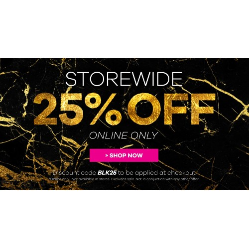 Bargain - 25% OFF - Storewide Extended @ Novo Shoes