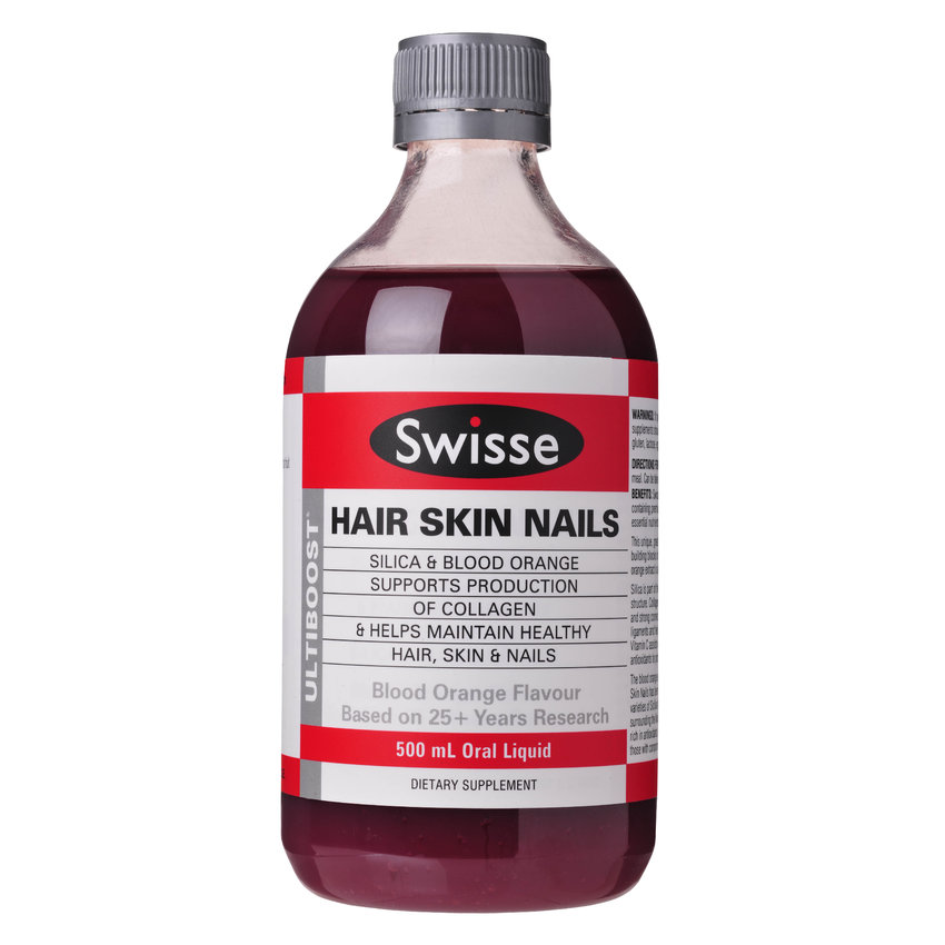Bargain - $19.99 (50% OFF) - Swisse Ultiboost Hair Skin Nails Liquid 500ml @ Life Pharmacy