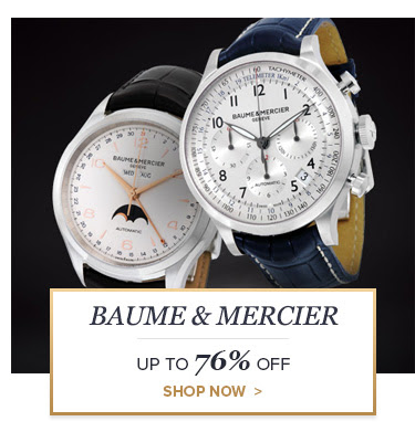 Bargain - Up to 76% OFF - BAUME & MERCIER @ Jomashop