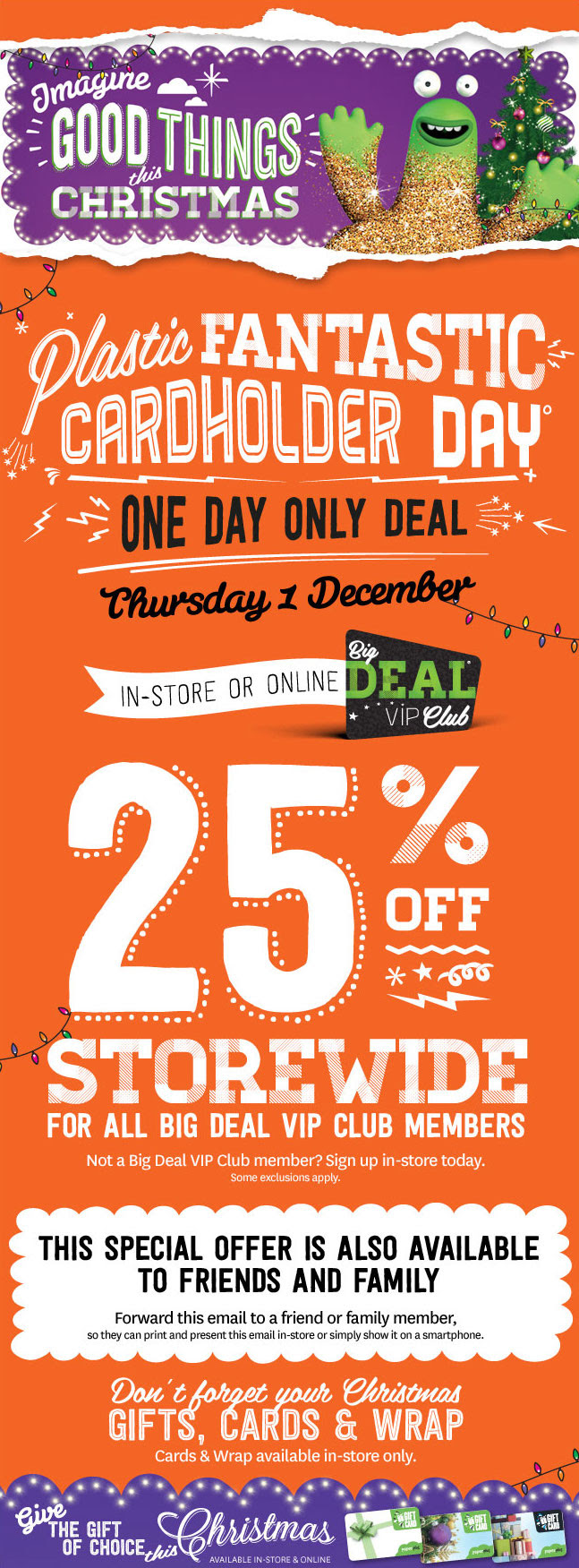 Bargain - 25% OFF - Storewide | One Day Sale Thursday @ Paper Plus