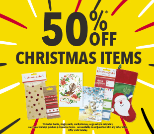 Bargain - 50% OFF - Christmas Items @ Whitcoulls