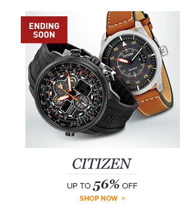 Bargain - Up to 56% OFF - CITIZEN SALE EVENT @ Jomashop