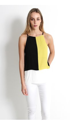 Bargain - $25 (was $44.99) - Jersey Back Colour Top | Pagani