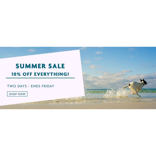 Bargain - 10% Off - Everything - Summer Sale @ Petpost