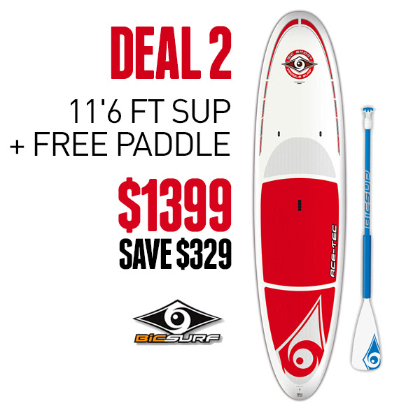 Bargain - $1399 (was $1728) - 2016 ACE TECH SUP 11`6 RED + FREE PADDLE @ Hyper Ride