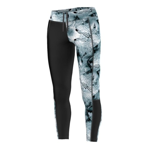 Bargain - $50 (was $90) - Adidas Run Long Tights - Black - Women`s @ Stirling Sports
