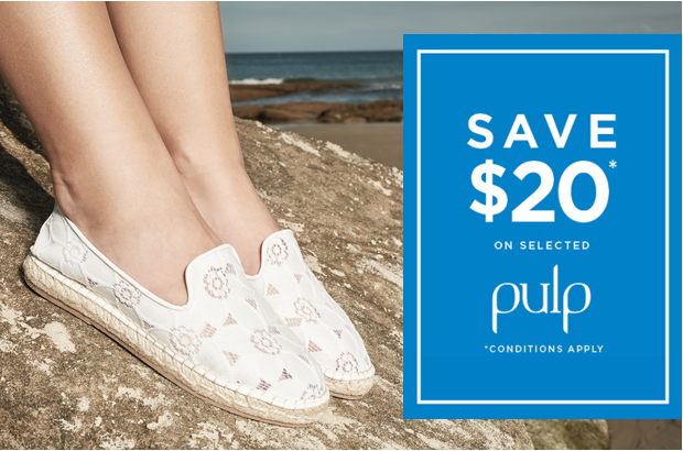 Bargain - Save $20 - Selected Pulp Style @ Hannahs