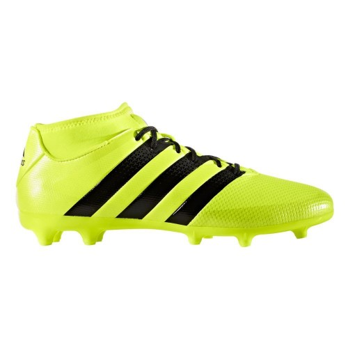 Bargain - $100 (was $150) - Adidas ACE 16.3 Primemesh Firm Ground Boots - Yellow - Men`s @ Stirling Sports