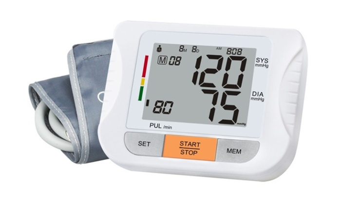 Bargain - $34 (was $120) - Electric Blood Pressure Monitor @ Groupon