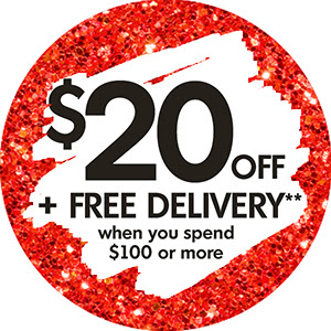Bargain - $20 OFF + Free Delivery - When You Spend $100 or more @ The Warehouse
