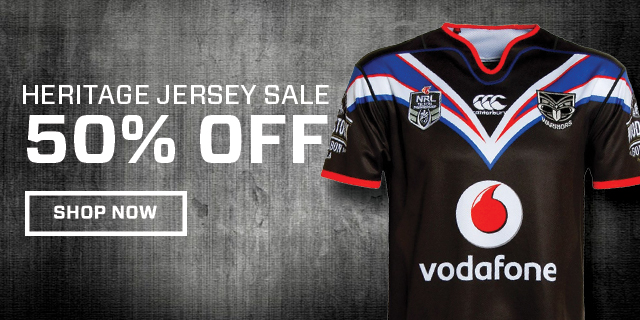 Bargain - $92.50 (50% OFF) - 2016 VODAFONE WARRIORS CCC HERITAGE JERSEY - ADULTS @ WarriorsStore