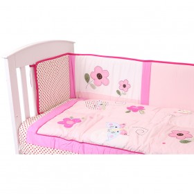 Bargain - $69.95 (was  $119.95) - Lullaby Dreams Butterfly Season Quilt and Bumper Set @ The Baby Factory