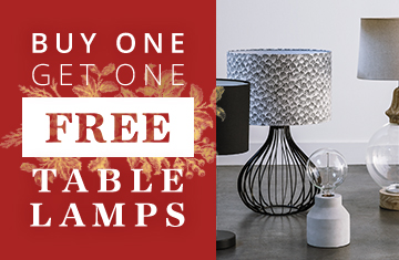 Bargain - Buy 1 Get 1 Free - Table Lamps @ Early Settler