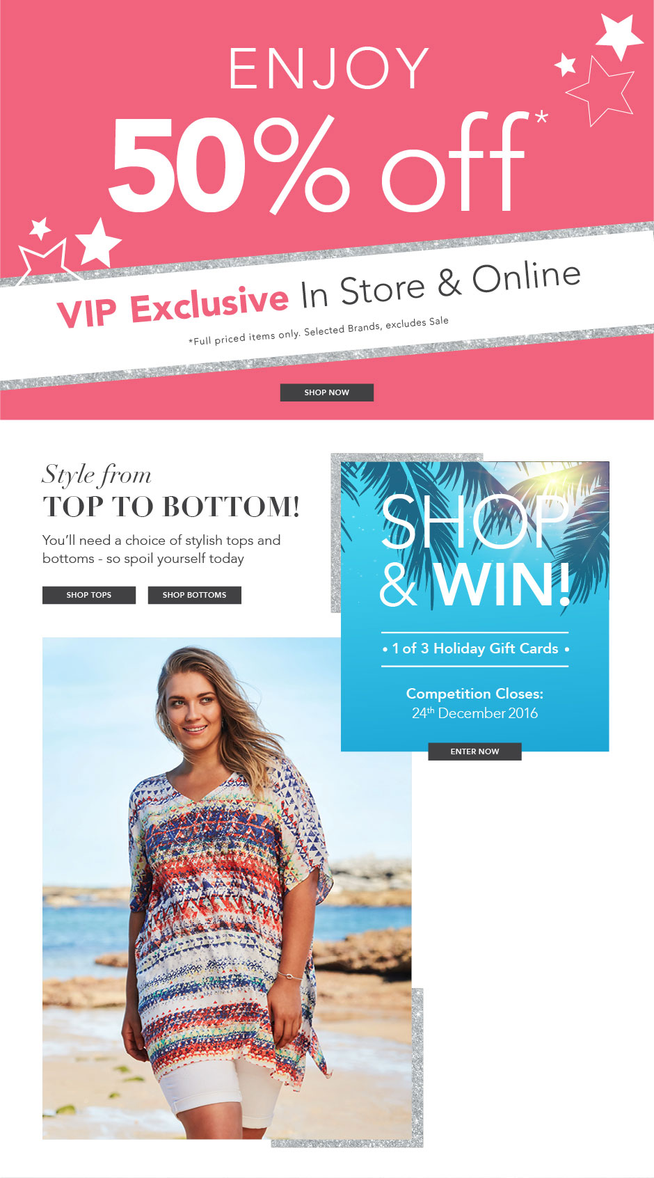 Bargain - 50% OFF - VIP Exclusive - Selected Brands @ Autograph Fashion