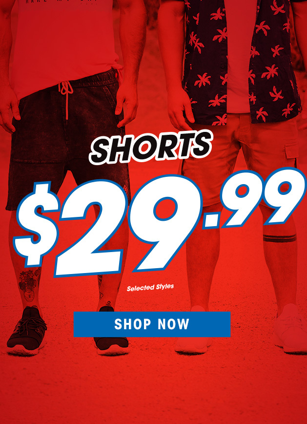 Bargain - only $29.99 - Shorts @ Hallenstein Brothers
