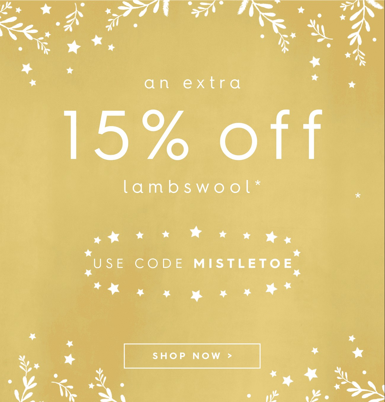 Bargain - Extra 15% OFF - Lambswool @ Wool Overs