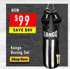 Bargain - $99 (was $179) - Boxing Set @ Number One Fitness