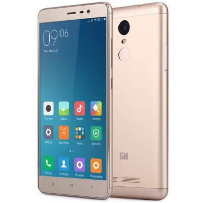 Bargain - $127.99 and free shipping - XIAOMI Redmi Note 3 Pro 16GB 4G Phablet-159.75 Online Shopping| GearBest.com