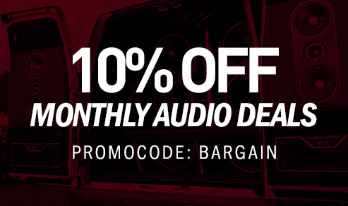 Bargain - 10% Off - Monthly Audio Deals @ Hyper Drive