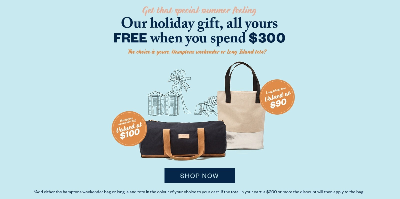 Bargain - Holiday Gift Free - Gift with Purchase - when You Spend $300 @ Merchant1948