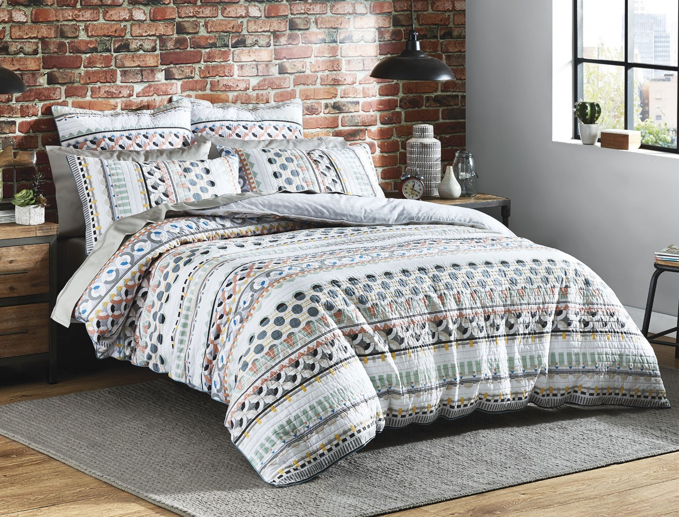 Bargain - $160.97 (was $229.95) - Martel Queen Quilt Cover @ Bed Bath N` Table